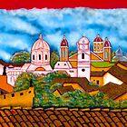 Granada Street Art Nicaragua 3 by Kurt  Van Wagner