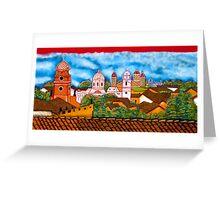 Granada Street Art Nicaragua 3 Greeting Card