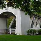 Covered Bridge by Lee LaFontaine
