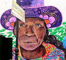 Street Art Lima Peru 1 by Kurt  Van Wagner