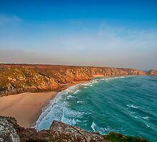 Porthcurno by Chris Thaxter
