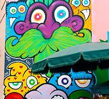 Street Art Lima Peru 2 by Kurt  Van Wagner