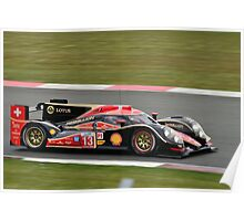 Rebellion Racing No 13 Poster
