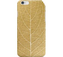 Gold leaf iPhone Case/Skin
