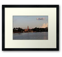 Epcot-Italy Framed Print
