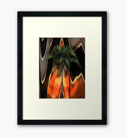 Volcano Coast Framed Print