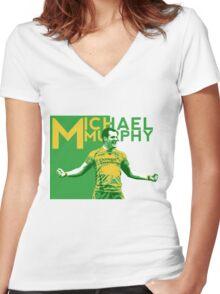 Michael Murphy - Donegal GAA Women's Fitted V-Neck T-Shirt