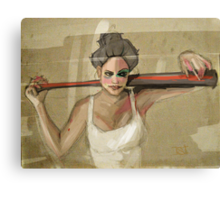 bad girls always want to play Canvas Print