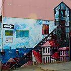 Street Art Valparaiso Chile 13 by Kurt  Van Wagner