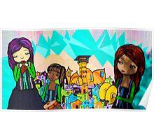 Street Art Valparaiso Chile 14 Poster