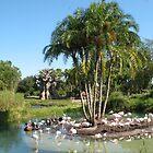 Flamingoes 2 by reendan