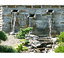 Three Generous Fountains Photographic Print