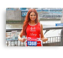 Amy Childs from the only way is Essex programme Metal Print