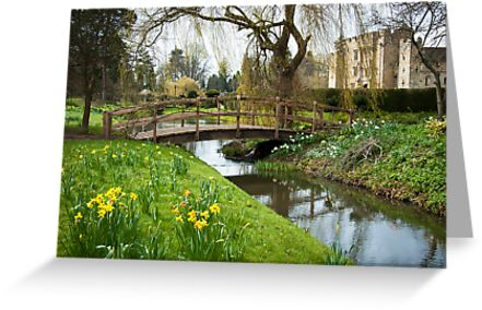 Heaver Castle in Springtime by DonDavisUK