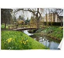 Heaver Castle in Springtime Poster