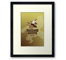 Bau Ling Buzzard Wasps Framed Print