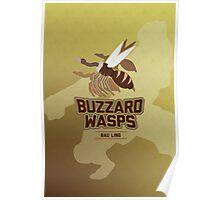 Bau Ling Buzzard Wasps Poster