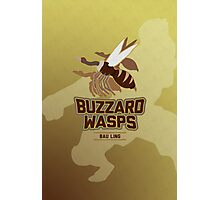 Bau Ling Buzzard Wasps Photographic Print