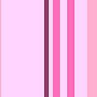 Pink Stripes by CanoeComsArt