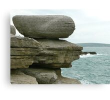Rock Equilibrium Canvas Print
