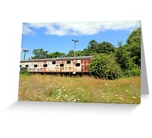 Old Train Greeting Card