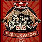 Crimestop 1984 Propaganda Poster by LibertyManiacs