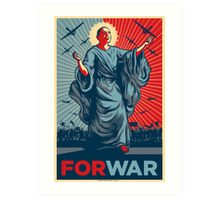 Obama FORWAR Art Print
