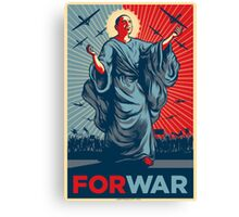 Obama FORWAR Canvas Print