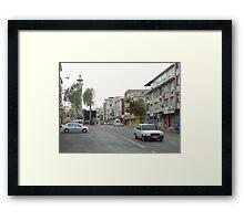 A street Framed Print