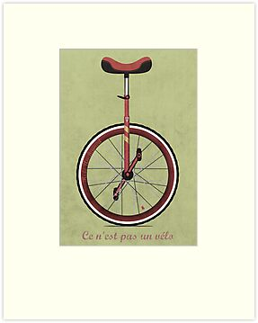 Unicycle by Andy Scullion