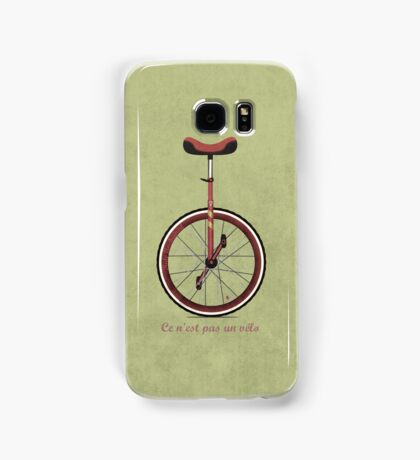 Unicycle Samsung Galaxy Case/Skin