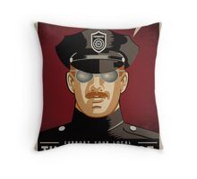 Thought Police Throw Pillow