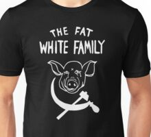 Fat White Family - White on black T-Shirt
