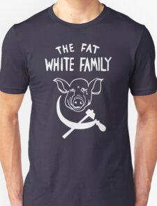 Fat White Family - White on black Unisex T-Shirt