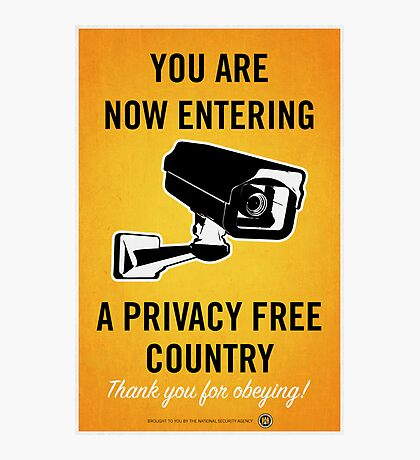 Privacy Free Country Photographic Print
