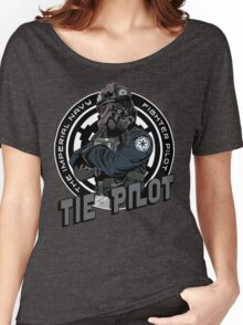TIE Pilot Crest Women's Relaxed Fit T-Shirt