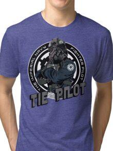 TIE Pilot Crest Tri-blend T-Shirt