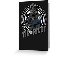 TIE Pilot Crest Greeting Card