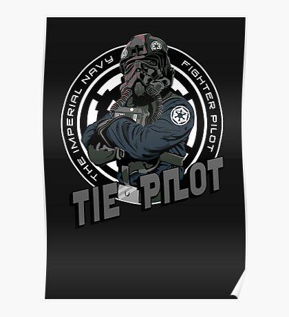 TIE Pilot Crest Poster