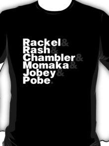 Rackel Rash Chambler Momaka Jobey Pobe T-Shirt