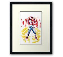 Obey Jessica Framed Print