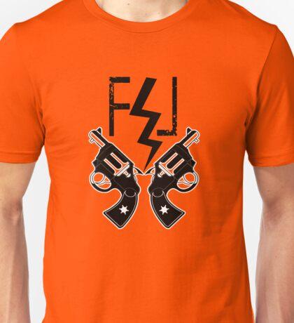 FUCKIN LIVIN BOLT AND GUNS Unisex T-Shirt