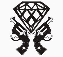 FUCKIN LIVING DIAMOND AND GUNS by chasemarsh