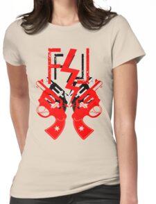 FUCKIN LIVIN TRIPPIN Womens Fitted T-Shirt