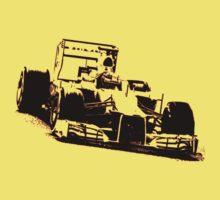 Formula One Racer Baby Tee