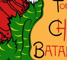 Chat Bataille Sticker