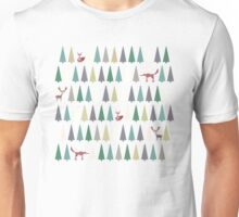 Forest Animals Unisex T-Shirt