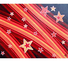 Stripes and Stars 1 Series 1 Photographic Print