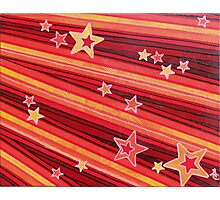 Stripes and Stars 3 Series 1 Photographic Print