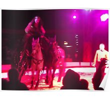 Zippos Circus/Horse Riding -(160413)- Digital photo/FujiFilm FinePix AZ350 Poster